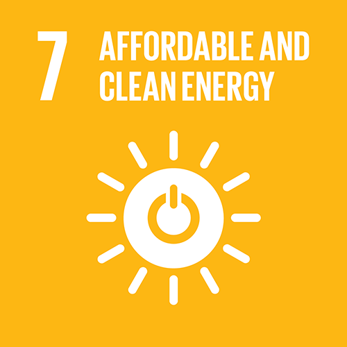 7. Ensure access to affordable, reliable, sustainable and modern energy for all