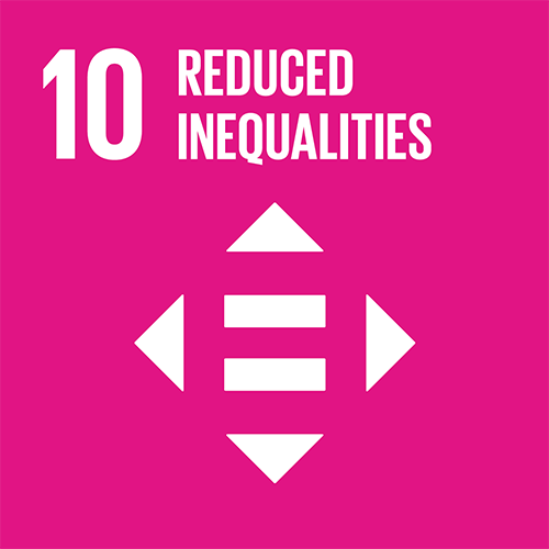 10. Reduce inequality within and among countries
